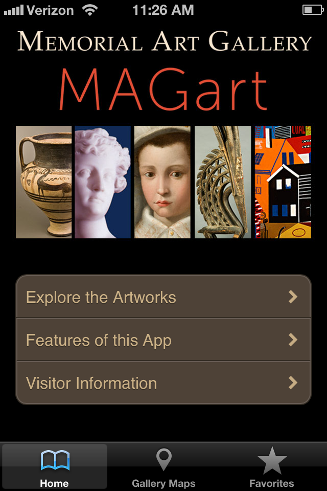 MAGart - Memorial Art Gallery's app