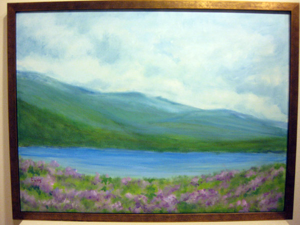 """View of Lake"" by Eileen Joy"