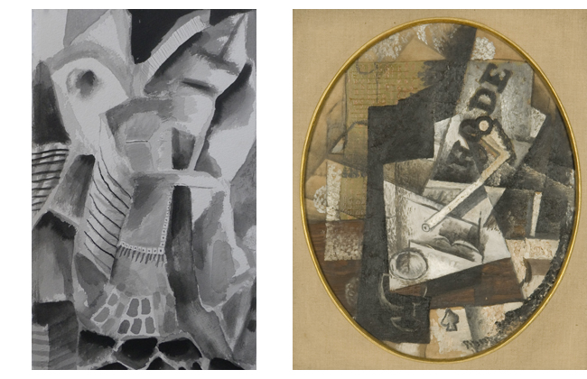 Carol Acquilano inspired by Braque