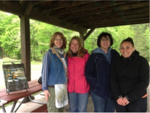 area teachers share their experience painting en plein air