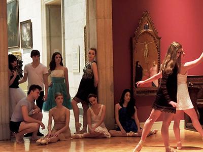 Degas-style groupings
