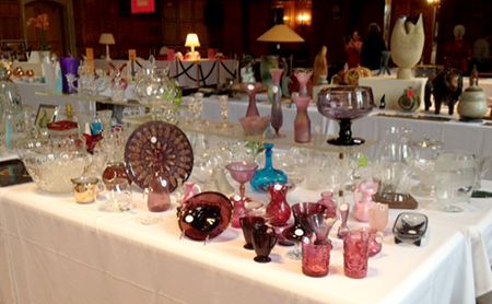 Art Glass at Art & Treasure 2013