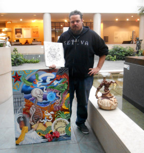 Jason Ferguson and some of his work
