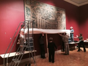 Removing the Tapestry