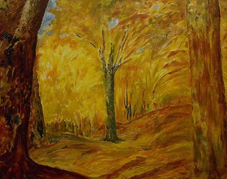 """Doug Doonan """"Fiery Autumn"""""""