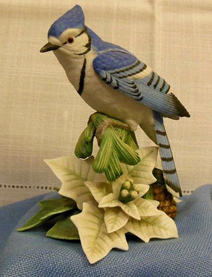 Lenox Blue Jay: 1998 Christmas Blue Jay