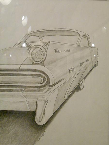 Kim Gearing's '59 Bonneville