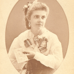 Emily Sibley. date unknown, photograph by J.H. Kent, Rochester, NY
