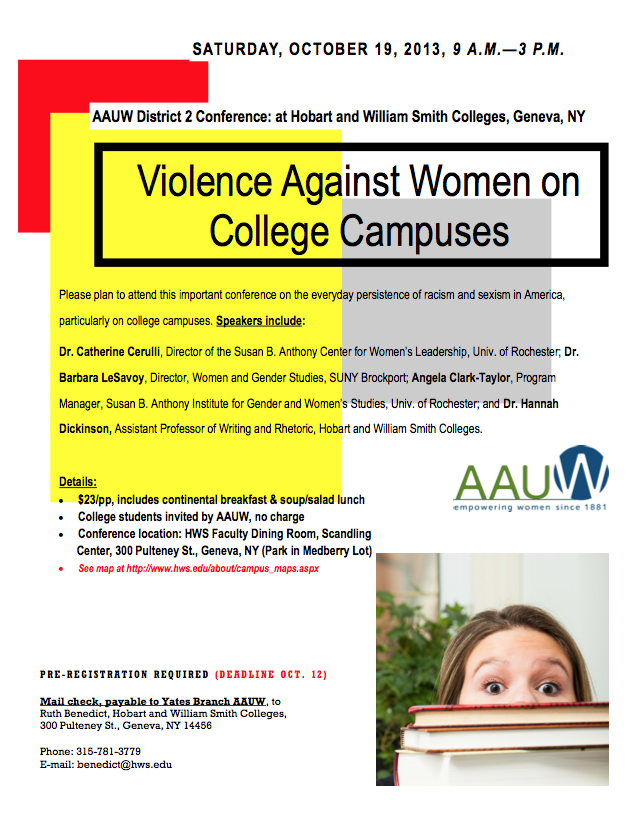 """Violence Against Women on College Campuses"""