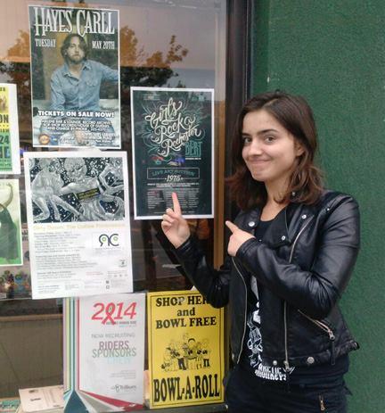 Madalina Ciocanu is working with Girls Rock! Rochester