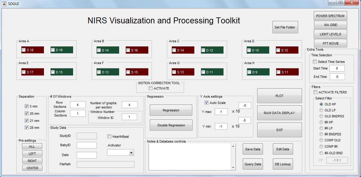 NIRS Visualization and Processing Toolkit (NVPT) – Biomedical