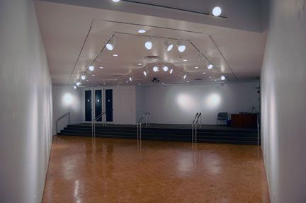 View of Hartnett Gallery