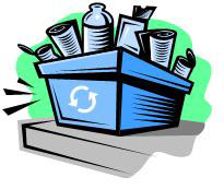 recycling box graphic