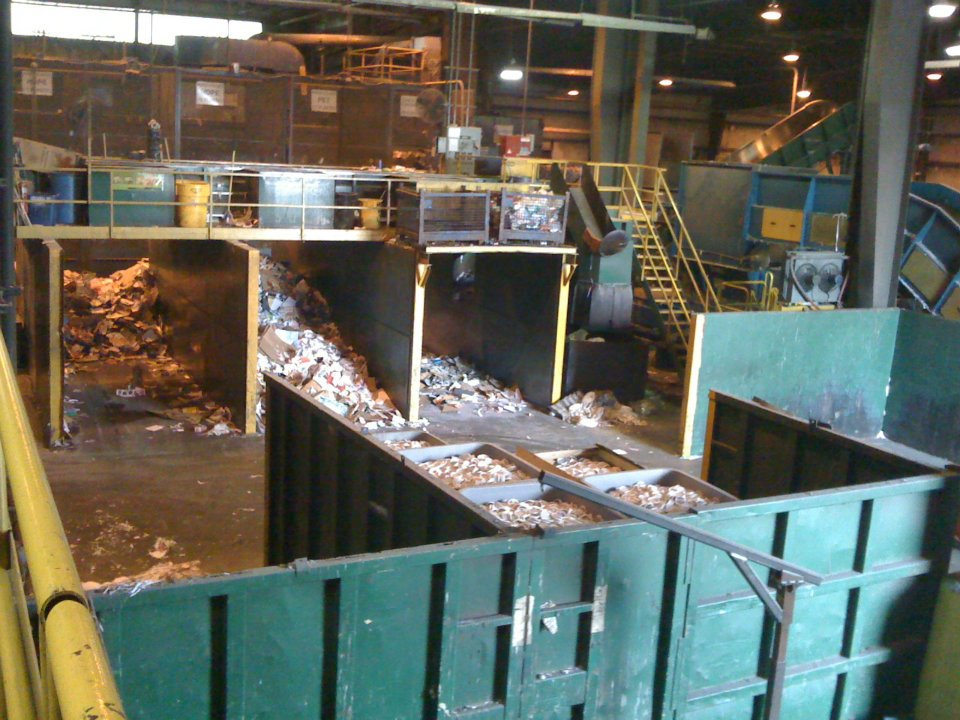 Recycling Center Tour