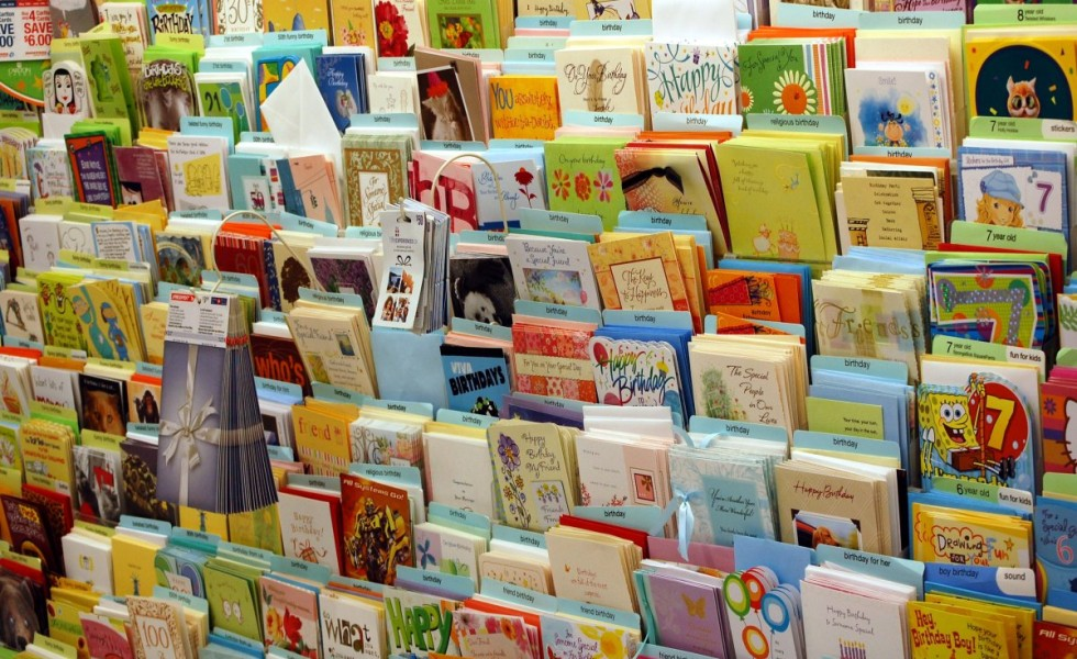 give new life to your old greeting cards, Greeting card
