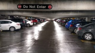 Medical Center Parking Garage After LED Upgrade