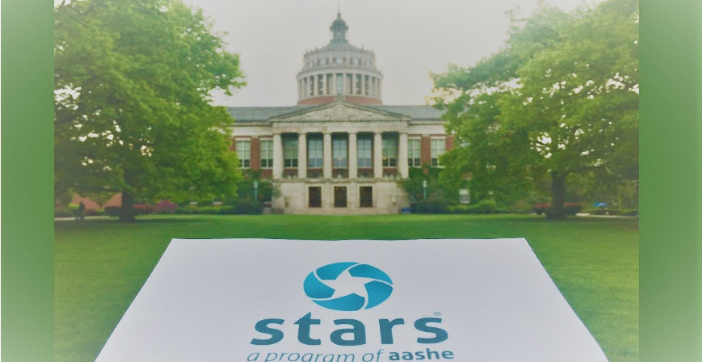 University Earns STARS Silver Rating from AASHE in Recognition of Sustainability Accomplishments